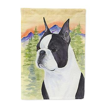 Carolines Treasures  SS8187-FLAG-PARENT Boston Terrier Flag