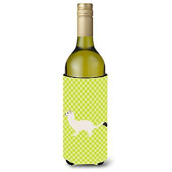 Kärppä lyhytpyrstöinen Lumikko vihreä viinipullo Beverge eriste Hugger