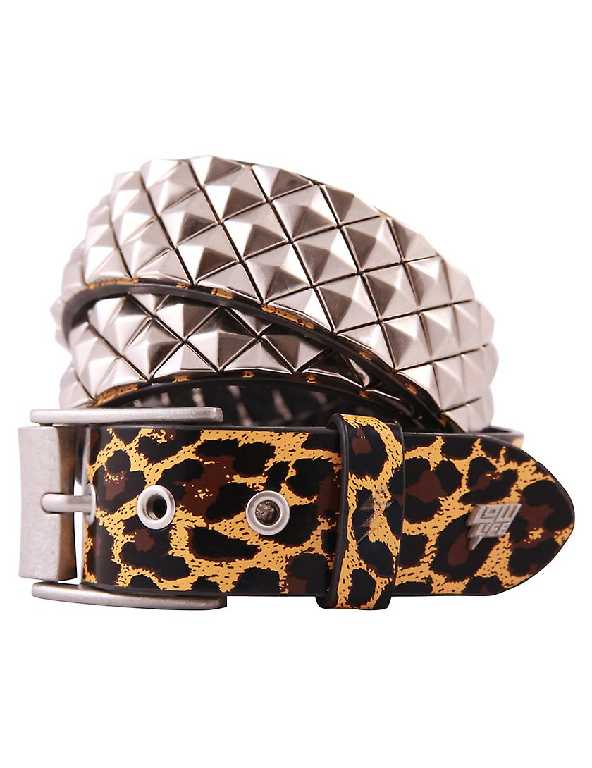 Lowlife Armor Leather Belt In Leopard Fruugo