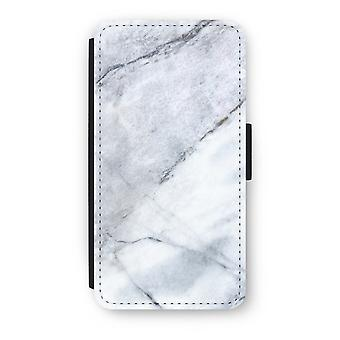 iPod Touch 6 Flip Case - marmer Wit