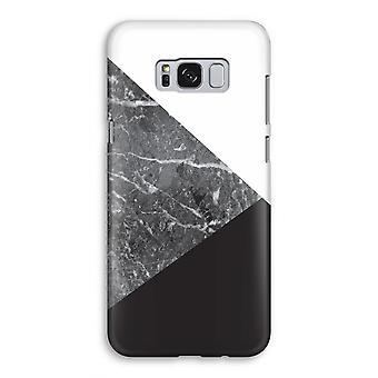 Samsung Galaxy S8 volledige Print geval (Glossy) - marmer combinatie
