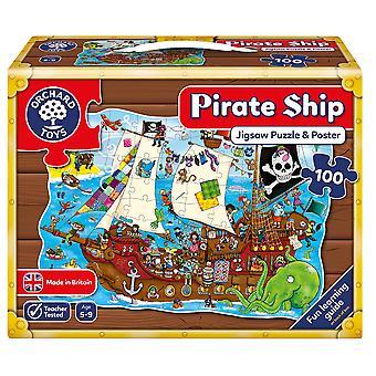 Navio pirata de pomar