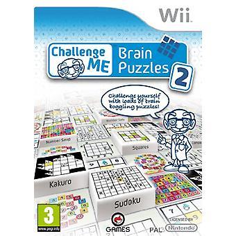Challenge Me Brain Puzzles 2 (Wii) - Nouveau
