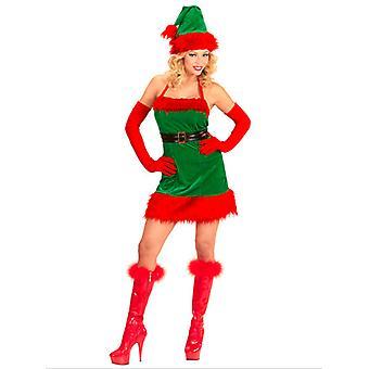 Santas Elf meisje
