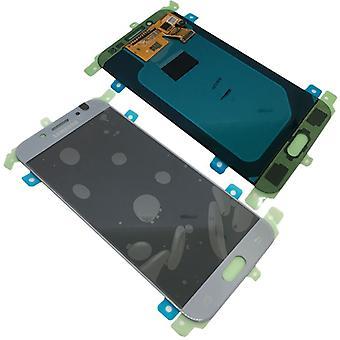 Samsung дисплей LCD полный для галактики J5 J530 2017 GH97-20738 B серебро