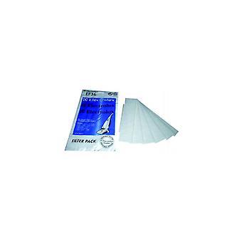 Electrolux vacuüm Motor Filter - Pack van 6 (EF36)