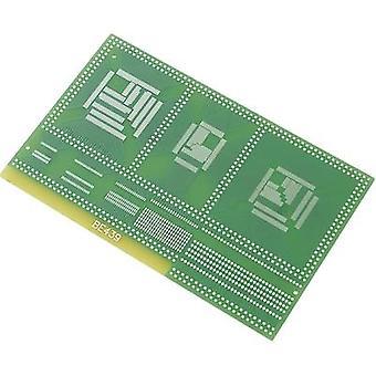 Conrad onderdelen SU528439 SMD adapter Epoxide (L x W) 100 x 160 mm 35 µm Contact afstand 0.80 mm 0,65 mm 0,50 mm, 0,65 mm, 0.80 mm, 1 mm, 1,27 mm inhoud
