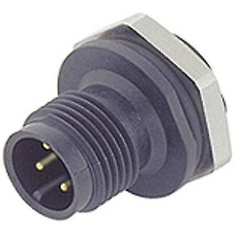 Binder 09-0433-387-05 M12 Sensor / Aktor-Stecker, Kappe, Schraube direkt