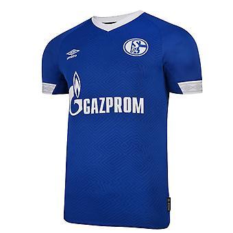 2018-2019 Schalke Umbro camisa de futebol em casa