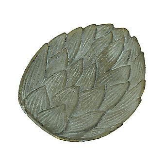 Cast Iron Artichoke Decorative Trinket Dish Valet