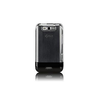 OEM Sprint ECOPhone Cover Case voor LG Viper 4G LTE (Clear/zwart)