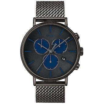 Timex Fairfield Supernova Chronograph grau Mesh Armband TW2R98000D7PF Uhr
