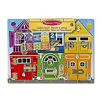 Melissa & Doug Riegel aus Holz Activity-Board