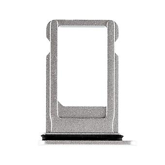 Silver SIM Card Tray with Waterproof Gasket For iPhone 8 Plus
