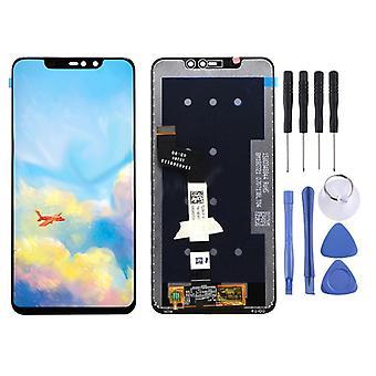 Para a exposição de Pro Xiaomi Redmi grau 6 completa peças sobresselentes unidade LCD de toque reparar preto novo