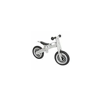 Vélo d'équilibre simplement en bois pour enfants Silver