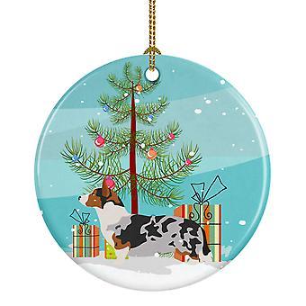 كارولين الكنوز BB8475CO1 الويلزية فصيل كورجي سترة عيد الميلاد زخرفة السيراميك