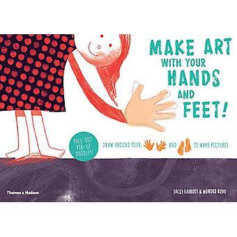 Faire de l'Art avec vos mains et vos pieds! -Tracez autour de vos mains et pieds t