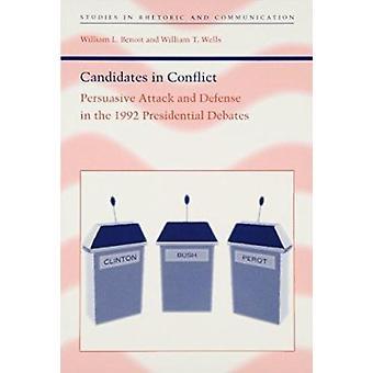 Candidatos en conflicto - persuasivo ataque y defensa en la Pre de 1992