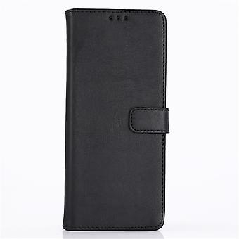 Sony Xperia 1 Retro portafoglio Case-Black