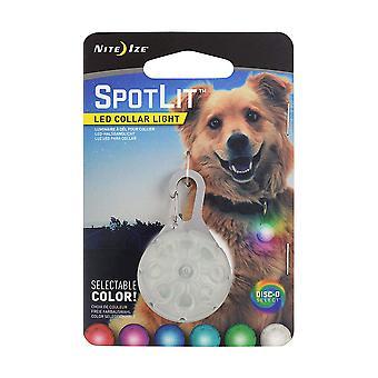 Nite Ize vielfarbig LED Halsband leichte Disc-O Select