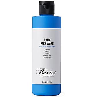 Baxter of California Daily Face Wash All Skin Types 8oz / 236ml