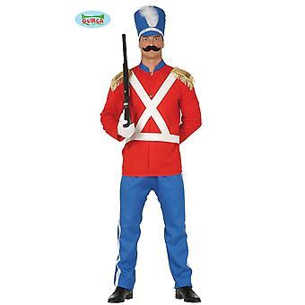 Soldado soldado uniforme guardia de los hombres del traje de soldadito de plomo