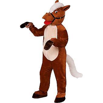 Horse Mascot Adult Costume