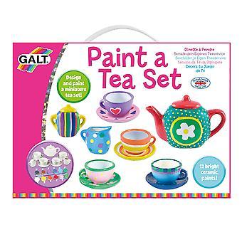 Juguetes de Galt pintan un juego de té