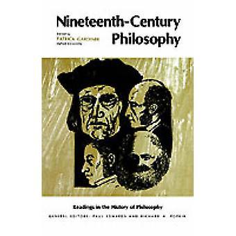 NineteenthCentury Philosophy door Gardiner & Patrick L.