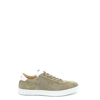Tod's Ezbc025021 Men's Green Suede Sneakers