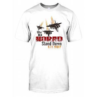 Hvorfor NORAD stå ned 9.11.2001? Kids T skjorte