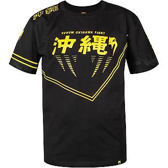 Житомир дети Окинава 2.0 коротким рукавом Футболка-черный/желтый