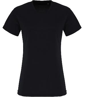 Mirada al aire libre mujeres ligero relieve Wicking T Shirt