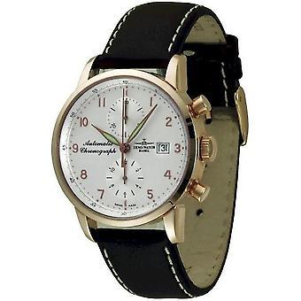 Zeno-watch mens watch Magellano Cronografo Bicompax 18 ct oro 6069BVD-GG-f2