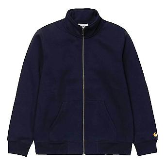 Carhartt WIP Chase Highneck zweet donker