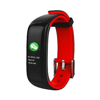 P1 Plus Activity Wristband-Red