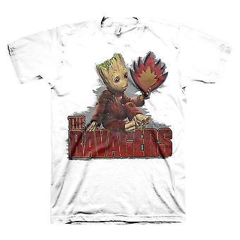 Men's Guardians of the Galaxy Groot The Ravagers T-shirt