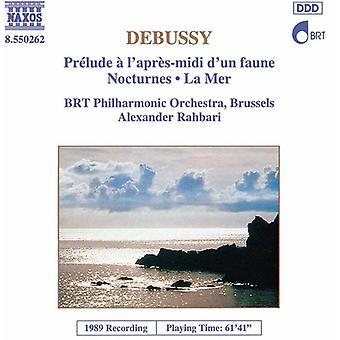 C. Debussy - Debussy: Pr Lude L'Apr S-Midi d'un Faune; Nocturnes; Importare la Mer [CD] Stati Uniti d'America