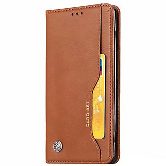 Wallet Case iPhone Xs Max, 4 slots, built-in magnet lock