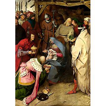 The Adration of the Kings, Pieter Bruegel, 60x43cm