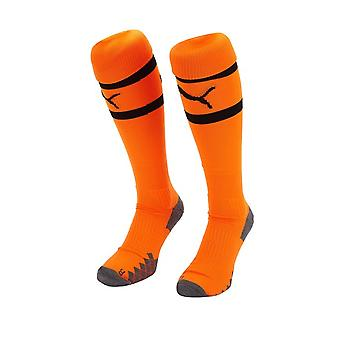 2019-2020 Valencia Away Puma Socks (Orange) - Kids