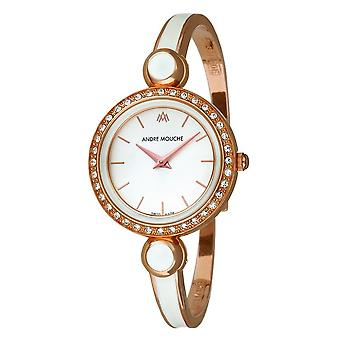 Andre Mouche - Wristwatch - Ladies - ARIA -CRYSTAL - 456-01101