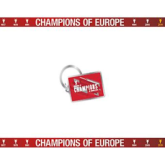 Liverpool Champions Of Europe Keyring NC