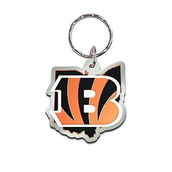 Wincraft STATE Keychain - NFL Cincinnati Bengals