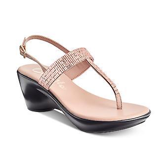 Callisto Womens Dysco Split Toe Casual Platform Sandals