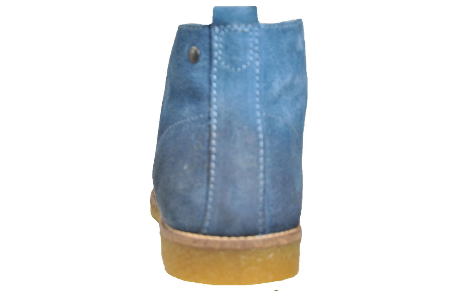 Base London Perry Suede Suede Blue