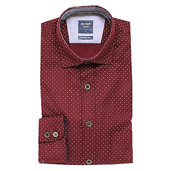 OLYMP Olymp Red Shirt 4060 39