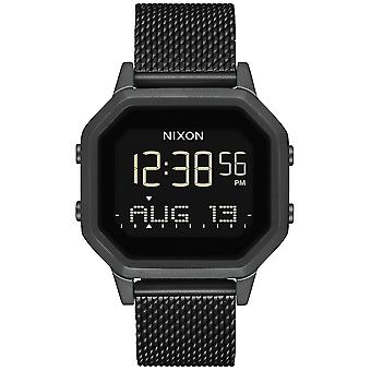 Nixon the Sirene Watch for Japanese Quartz Digital Woman with A1272001 Stainless Steel Bracelet