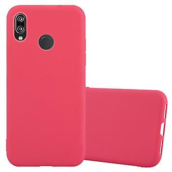 Cadorabo Case for Huawei P20 LITE Case Cover - Mobile Phone Case made of flexible TPU silicone - Silicone Case Protective Case Ultra Slim Soft Back Cover Case Bumper